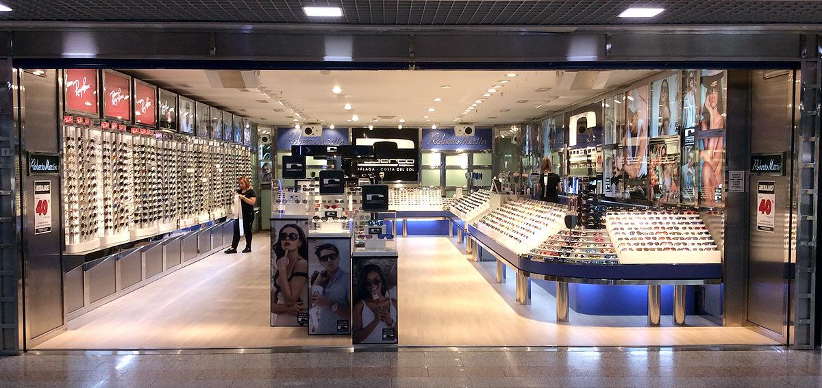 tienda de gafas de sol en centro comercial el arcángel de córdoba
