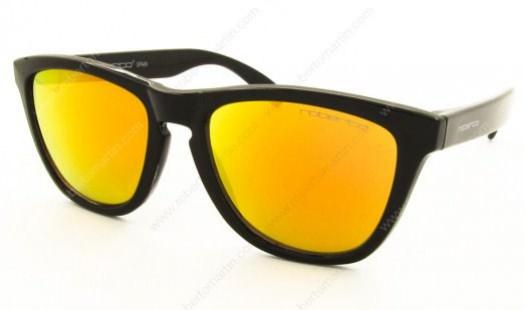 Gafas de espejo, cristales amarillos