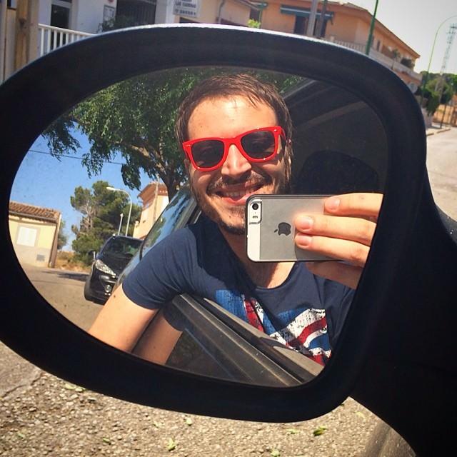 Las gafas de sol de Manu Catman