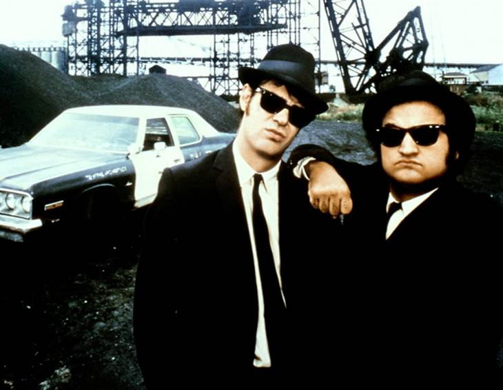 Ray Ban y The Blues Brother