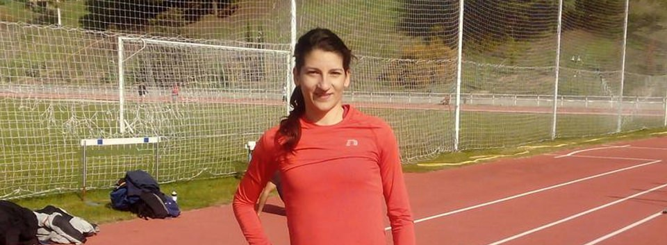 Elena Grimau, Atleta española