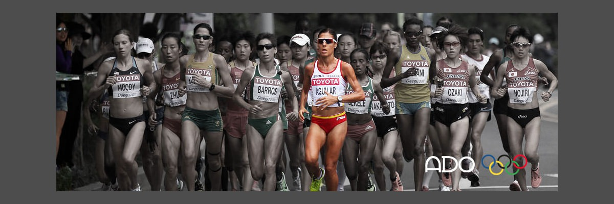 Alessandra Aguilar, atleta de maratón española