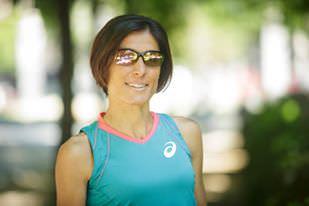 Alessandra Aguilar: con asics y Nike