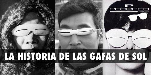 Historia de gafas de sol