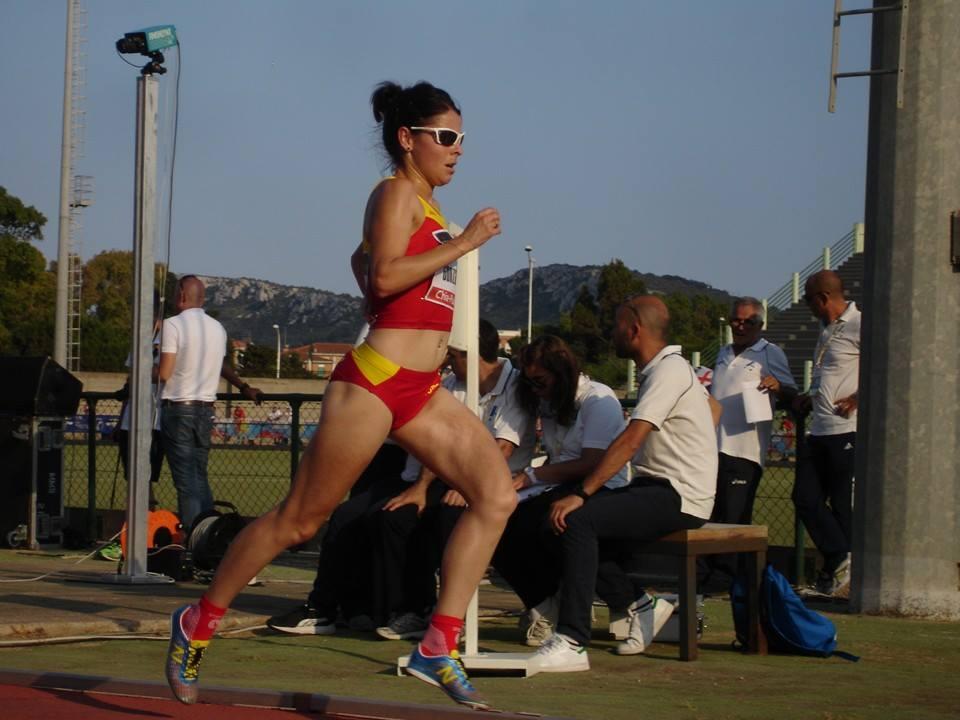 Atleta Paula Gonzalez