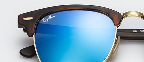 ray ban clubmaster polarizada gafa