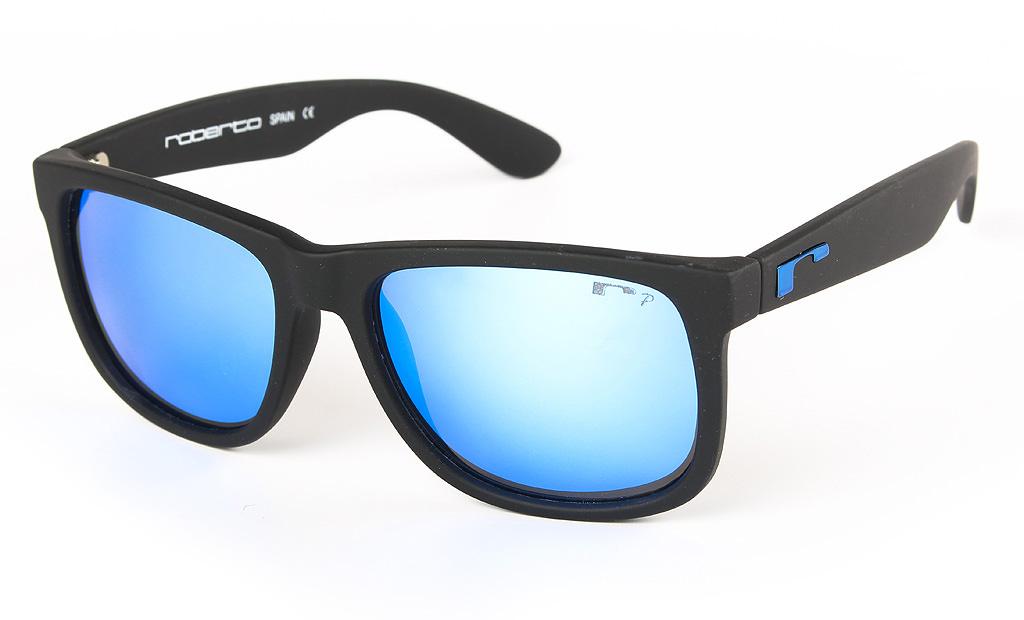 mitad de descuento f9ddd 2a969 Gafas de sol polarizadas Roberto SoCool Black BlueMirror