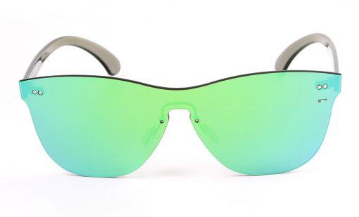 Gafas de sol de espejo sin montura todolente