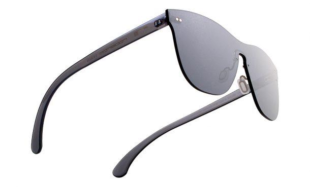 Gafas de sol de espejo sin montura, gafas todolente