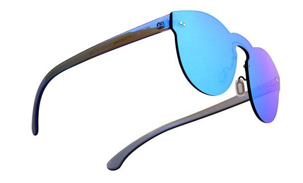 Gafas de sol de espejo sin montura