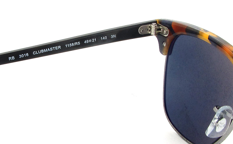 96ffc7075c new style ray ban sunglasses clubmaster rb3016 6mm 5442f f3d3b