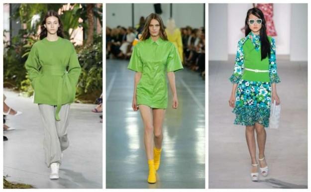 Colores Greenery modelos
