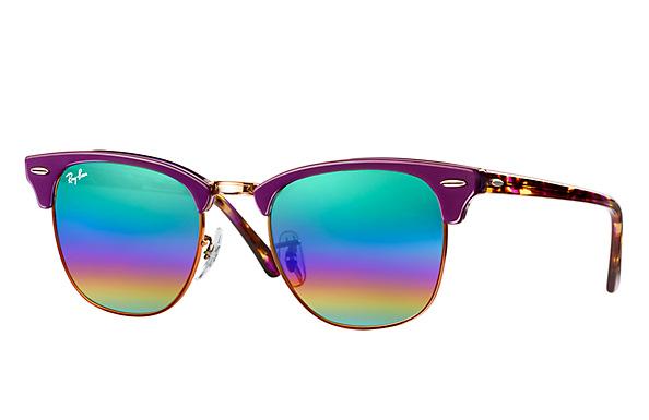 a16b4cfdae Las lentes degradadas multicolores también llegan a los modelos más  clásicos como las Aviator o las Clubmaster. Este tipo de lentes se  caracterizan por la ...