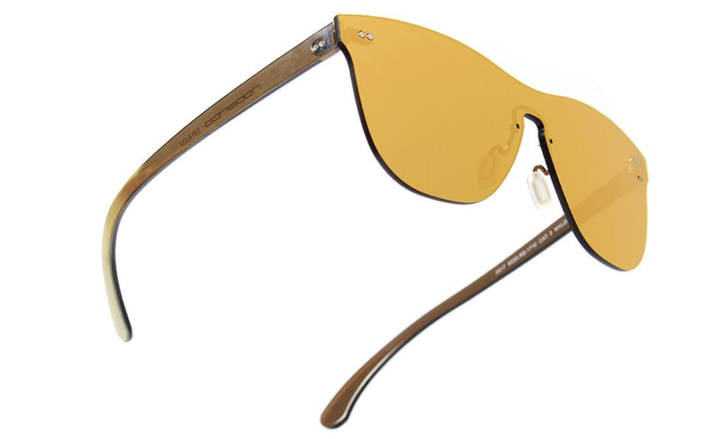 TheONE Pure Gold, gafas de sol todo espejo sin montura