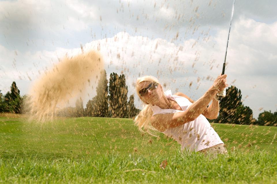 Gafas de sol para golfistas