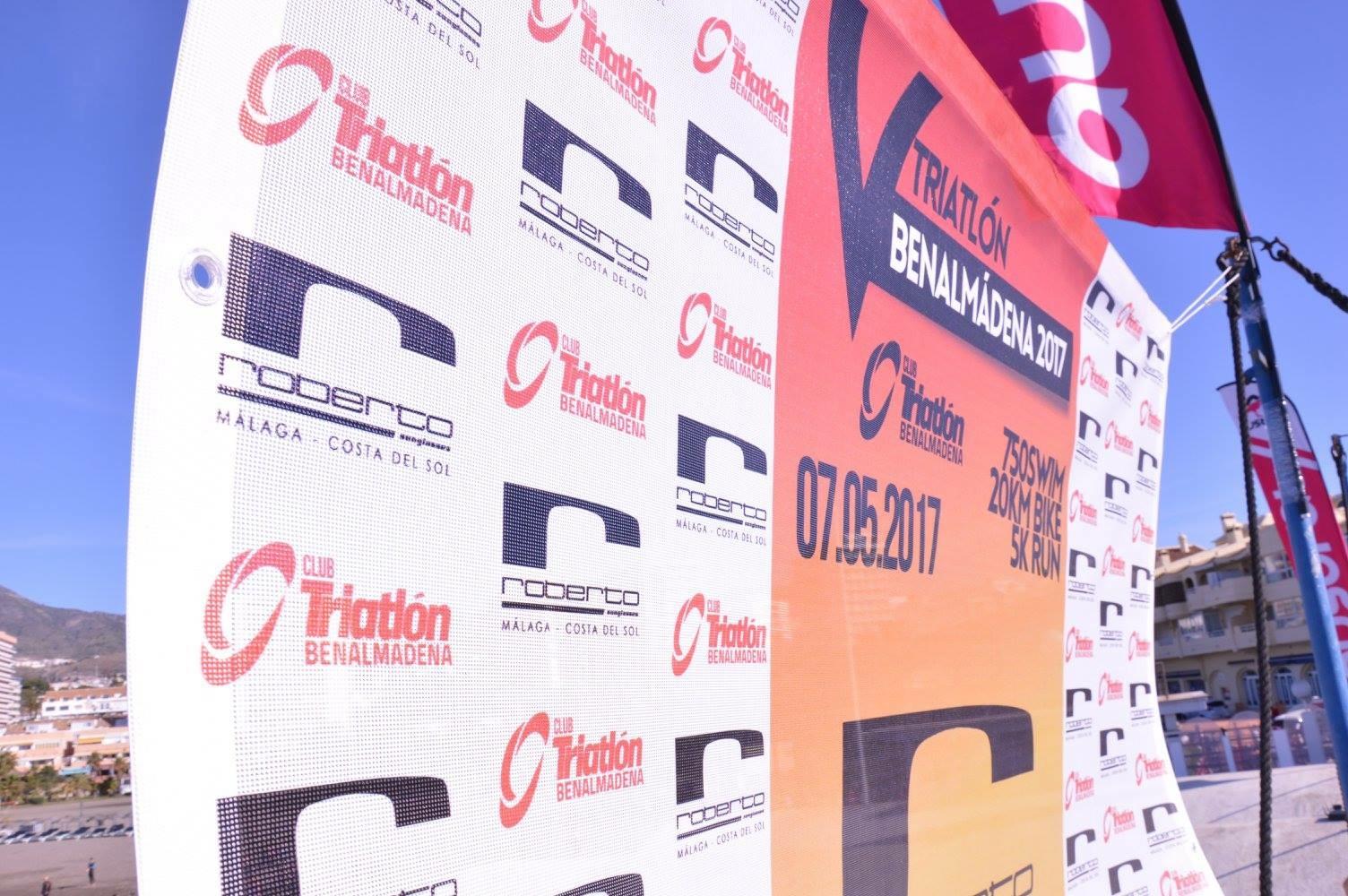 Roberto Volverá A Ser Main Sponsor Del Vi Triatlón De Benalmádena