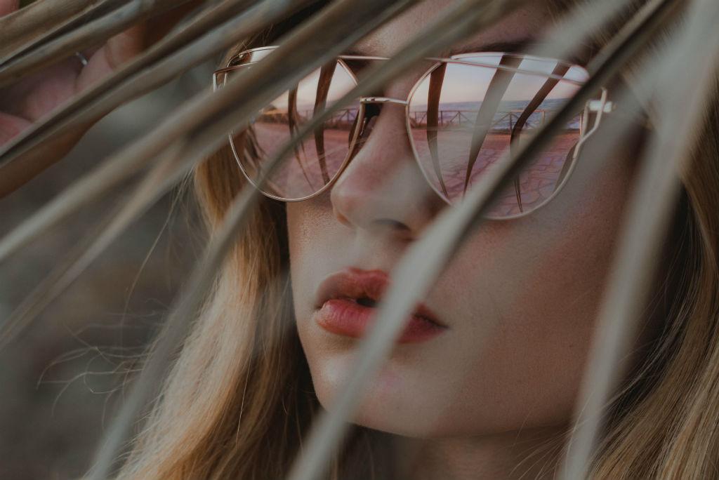 gafas de sol mujer otoño 2018 de espejo rosa