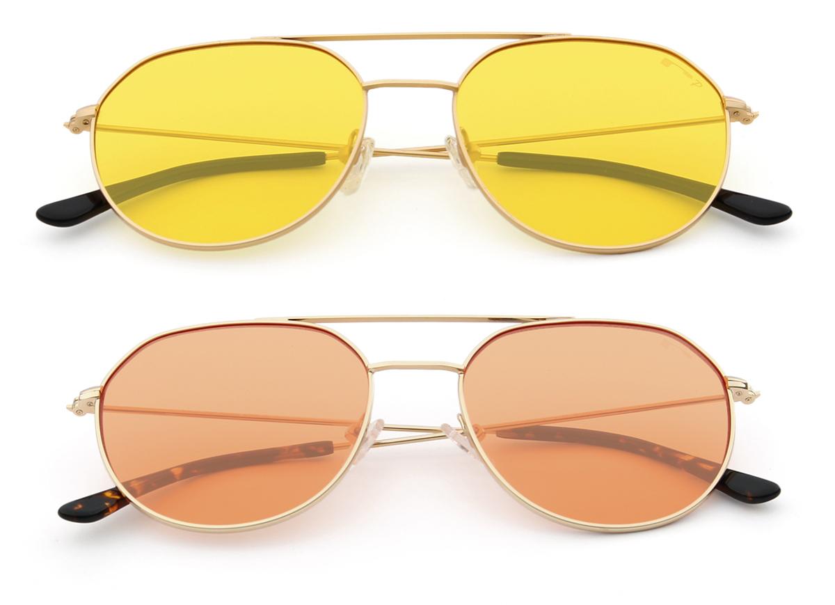 1fe32129f2 Gafas de sol 2018: tendencias, moda, metal y lentes transparentes