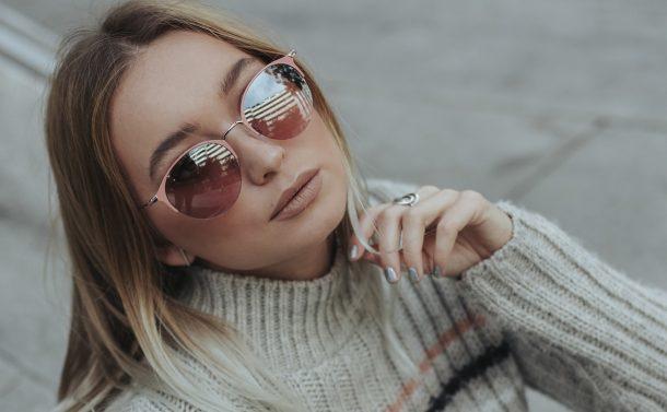Gafas de sol de chica