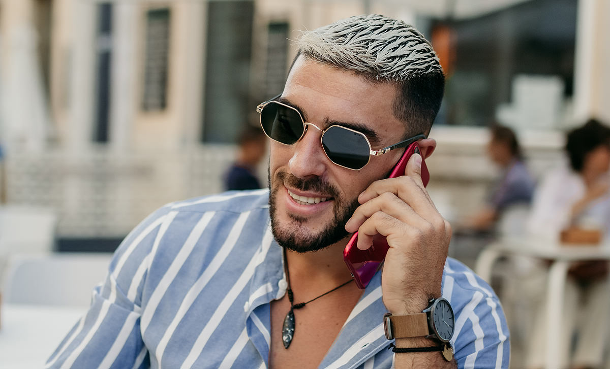 Gafas de sol 2020 para hombre Roberto Tech