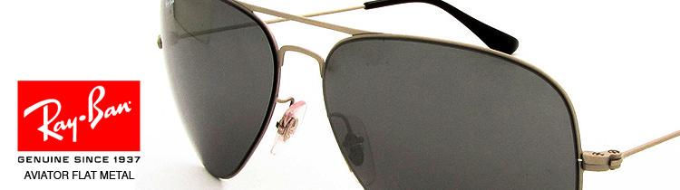 Gafas de Sol Ray Ban Aviator Flat Metal