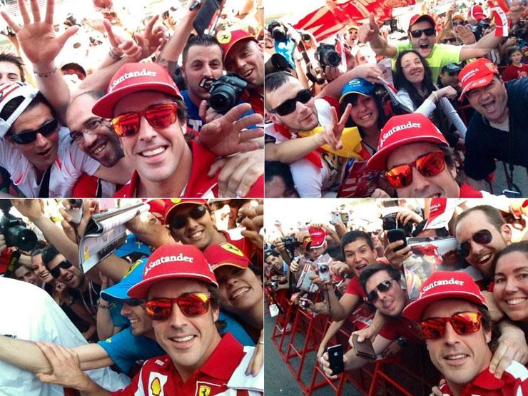 Gafas de sol de Fernando Alonso Oakley Holbrook Rojas