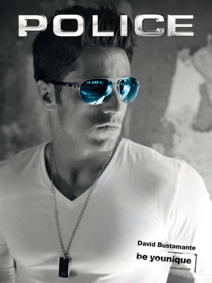 David Bustamante con Police 2012