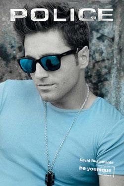 David Bustamante con gafas de sol Police