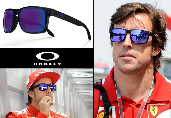 Las gafas de Fernando Alonso, Oakley Holbrook Julian Wilson