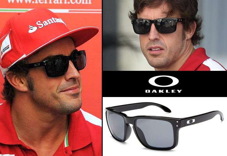 Fernando Alonso con gafas de sol Oakley Holbrook en el GP de Abu Dhabi f9d93aeaf4