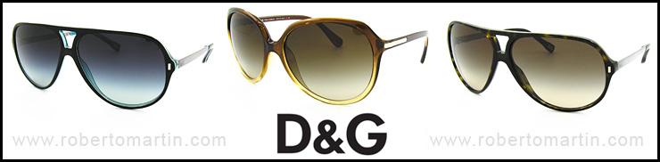 2012 gafas de sol D&G
