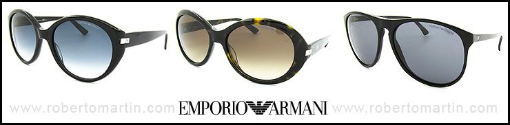 catálogo de gafas de sol Emporio Armani