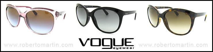 catálogo de gafas de sol Vogue 2012