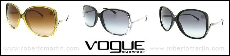Catálogo de Vogue gafas de sol para 2012