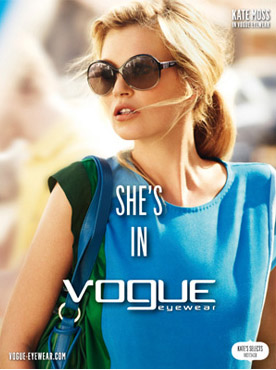 Kate Moss Gafas de Sol Vogue 2012