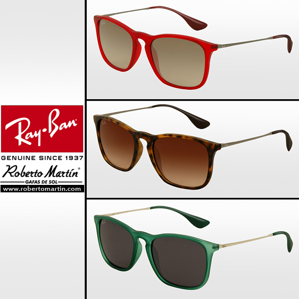 f494ab2e680c4 Nuevas gafas de sol unisex Ray Ban Chris para el catálogo 2013