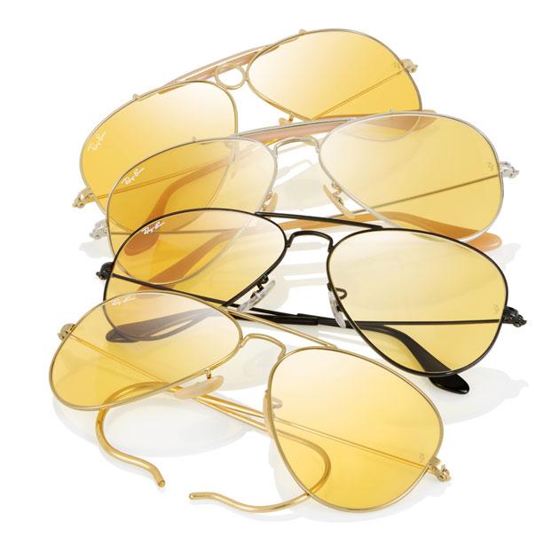 Gafas de sol Ray Ban Aviator con lentes Ambermatic