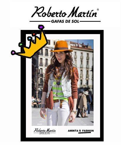 """Gafas de sol Roberto en """"Show me the look"""" by Aminta"""