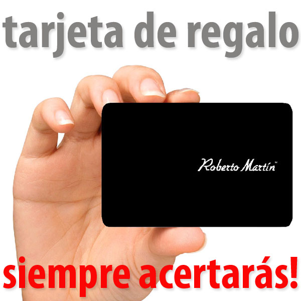 Tarjeta regalo de Roberto Martín Gafas de Sol