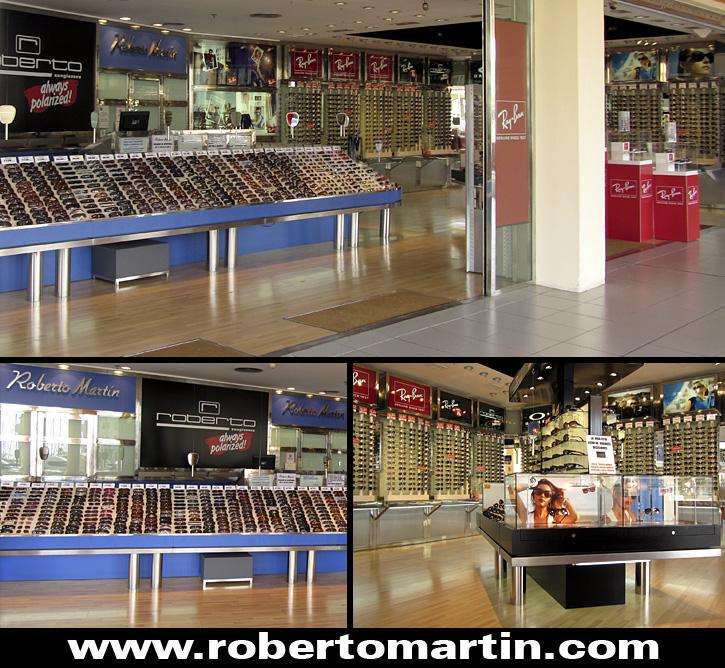 tiendas de gafas de sol en Benalmadena Roberto Martin