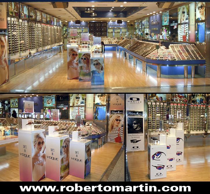 gafas de sol en cordoba Roberto Martin