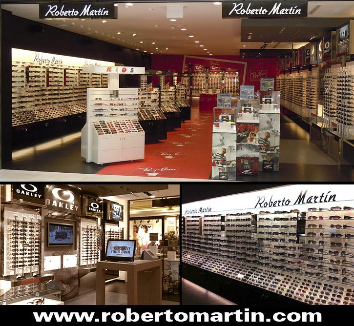 gafas de sol en Madrid Roberto Martín