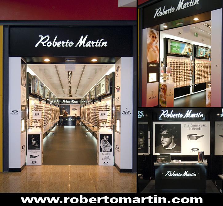Gafas de sol en Vialia Málaga Roberto Martín