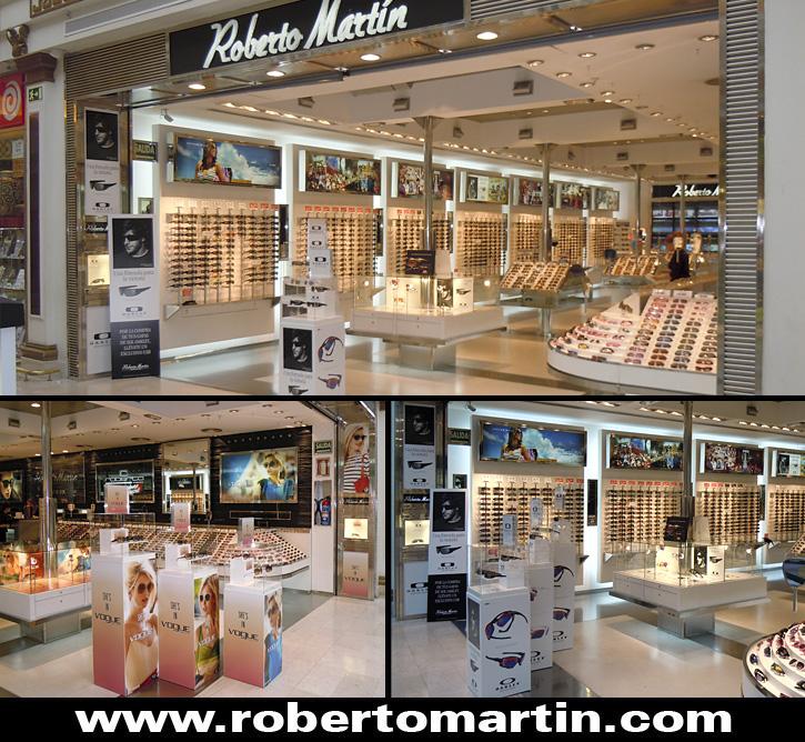 tiendas de gafas de sol en Madrid Roberto Martín