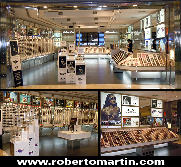 tiendas de gafas de sol en Sevilla Roberto Martín