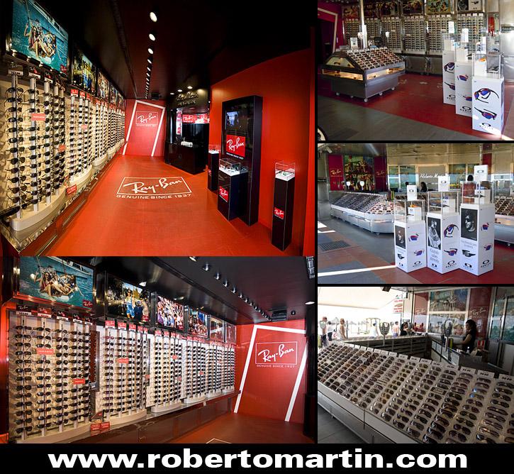 Tienda de gafas de sol en Torremolinos Roberto Martín