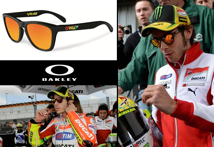 Oakley Frogskins Valentino Rossi Signature Series VR46