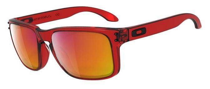 Oakley Holbrook Red Ruby Iridium Fernando Alonso